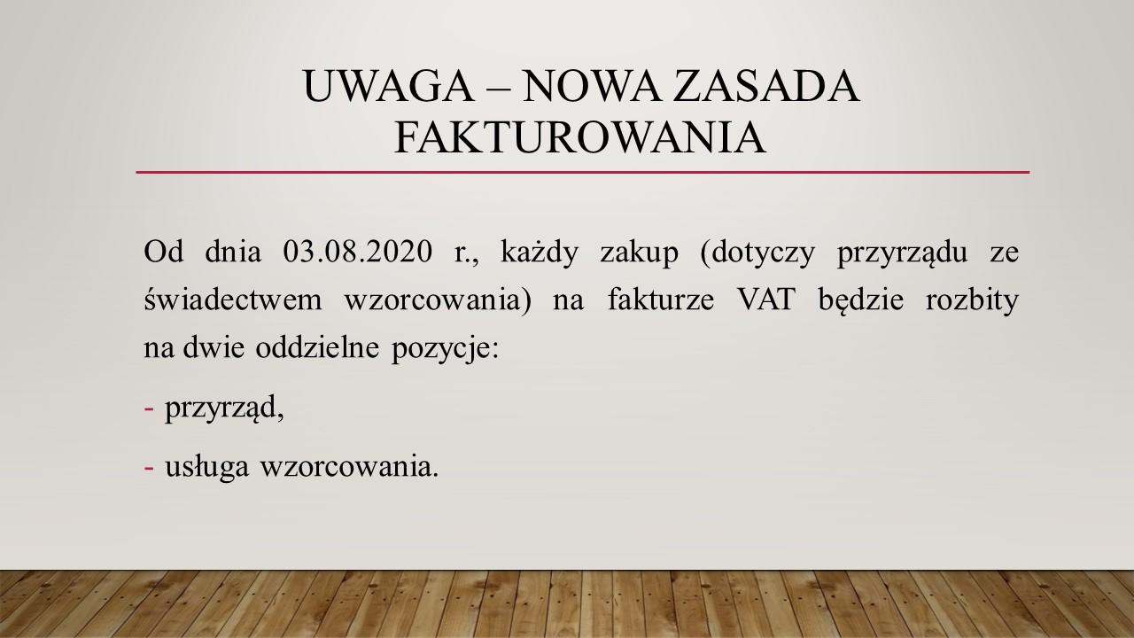 UWAGA – nowa zasada fakturowania.JPG